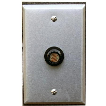 Photocontrols Flush Mount With Wall Plate 120V - image 1 de 1