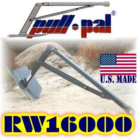 U.S. made (Mega-Duty) PULL-PAL WINCH ANCHOR 16000 with Heavy-Duty Carrying Case (from Billet4x4) (OFF-ROAD (Best Off Road Winch)