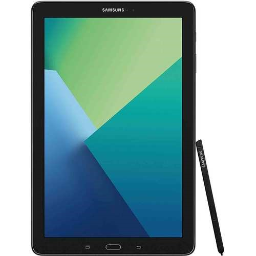 Samsung Galaxy Tab A 10.1 Tablet 16GB S Pen, Bluetooth - Black (SM-P580NZKAXAR)