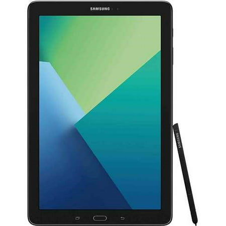 Samsung Galaxy Tab A 10.1 Tablet 16GB S Pen, Bluetooth - Black (SM-P580NZKAXAR)... ()