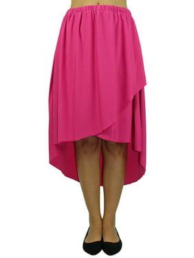 Product Image High-Low Elastic Waist Skirt 4b57a72d9