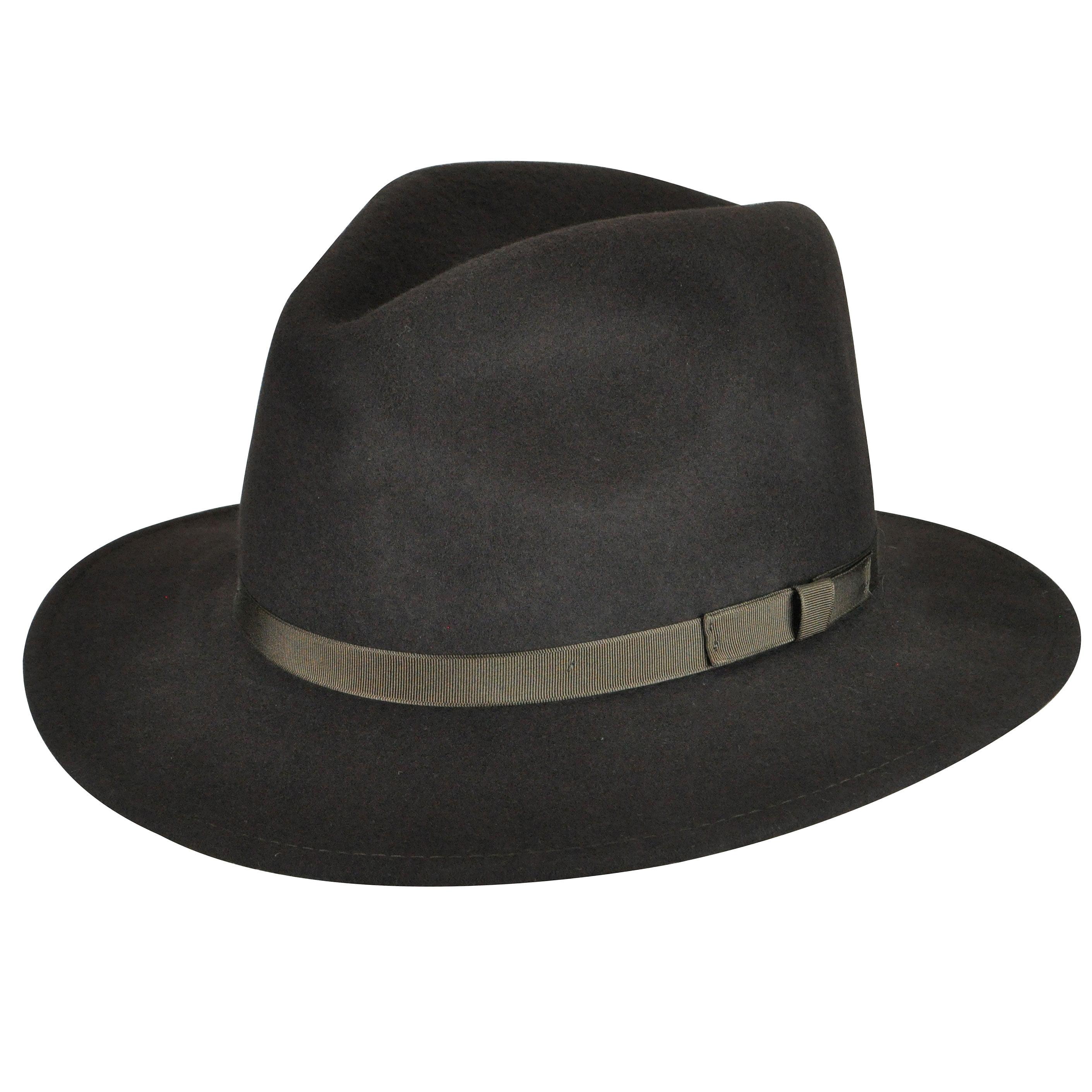 Country Gentleman - Country Gentleman Men Wilton Fedora Hat - Walmart.com e4ed50b5978