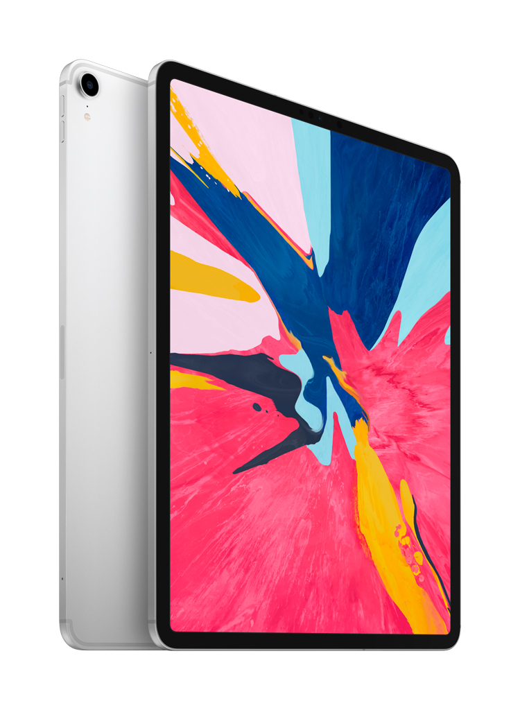 Apple iPad Pro 12.9-inch 64GB Wi-Fi Only (2018 Model, 3rd Generation, MTEM2LL/A) - Silver
