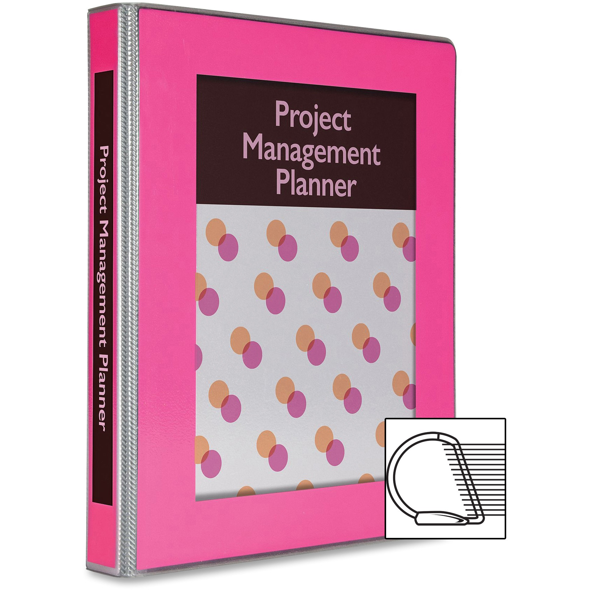 "Avery 1"" UltraLast, Durable Binder- Pink Color"