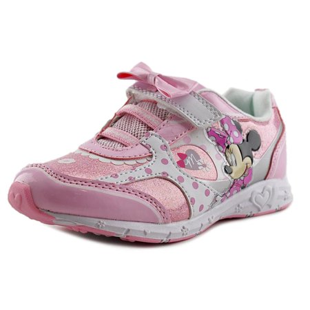 Disney Minnie Sneaker Youth  Round Toe Synthetic Pink Sneakers - Shoes Disney