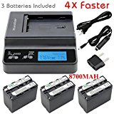 Kastar Ultra Fast Charger(4X faster) Kit and Battery (3_P...