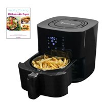 Avalon Bay AF25BSS 2.65 Qt Stainless Steel Basket Air Fryer