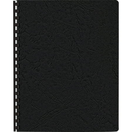 Fellowes Leather (Fellowes, FEL52138, Expressions Premium Textured Covers, 200 / Pack, Black )