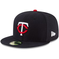 Minnesota Twins New Era 60th Season Home Authentic Collection On-Field 59FIFTY Fitted Hat - Navy