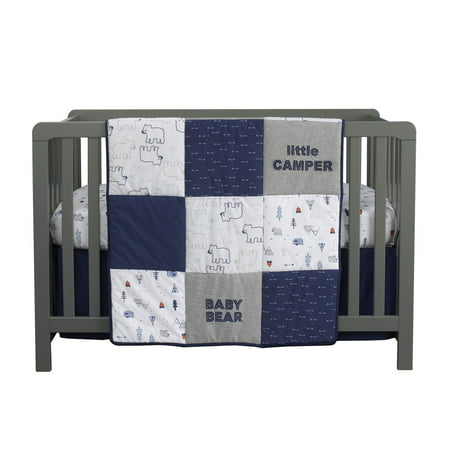 Explore Baby Bear 4 Piece Nursery Crib Bedding Set by Carters