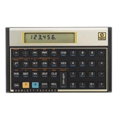 HP Calculators 12C#ABA Business Calculator Clam (Hewlett Packard 12C#ABA) by