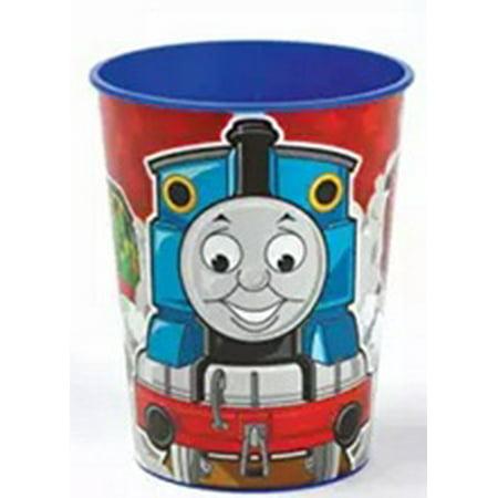Thomas The Train Red Plastic 16 Oz Reusable Keepsake Souvenir Cup 1