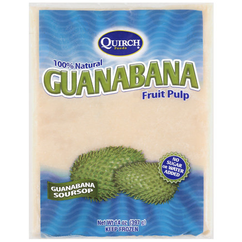 Quirch Foods Guanabana Soursop Fruit Pulp, 14 oz
