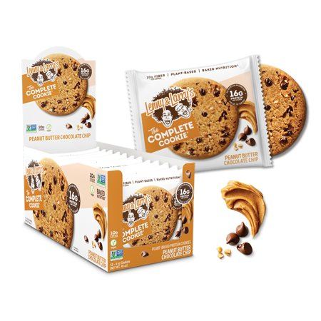 Lenny & Larry's, The Complete Cookie, PEANUT BUTTER CHOCOLATE CHIP, 16g Protein, 4ct
