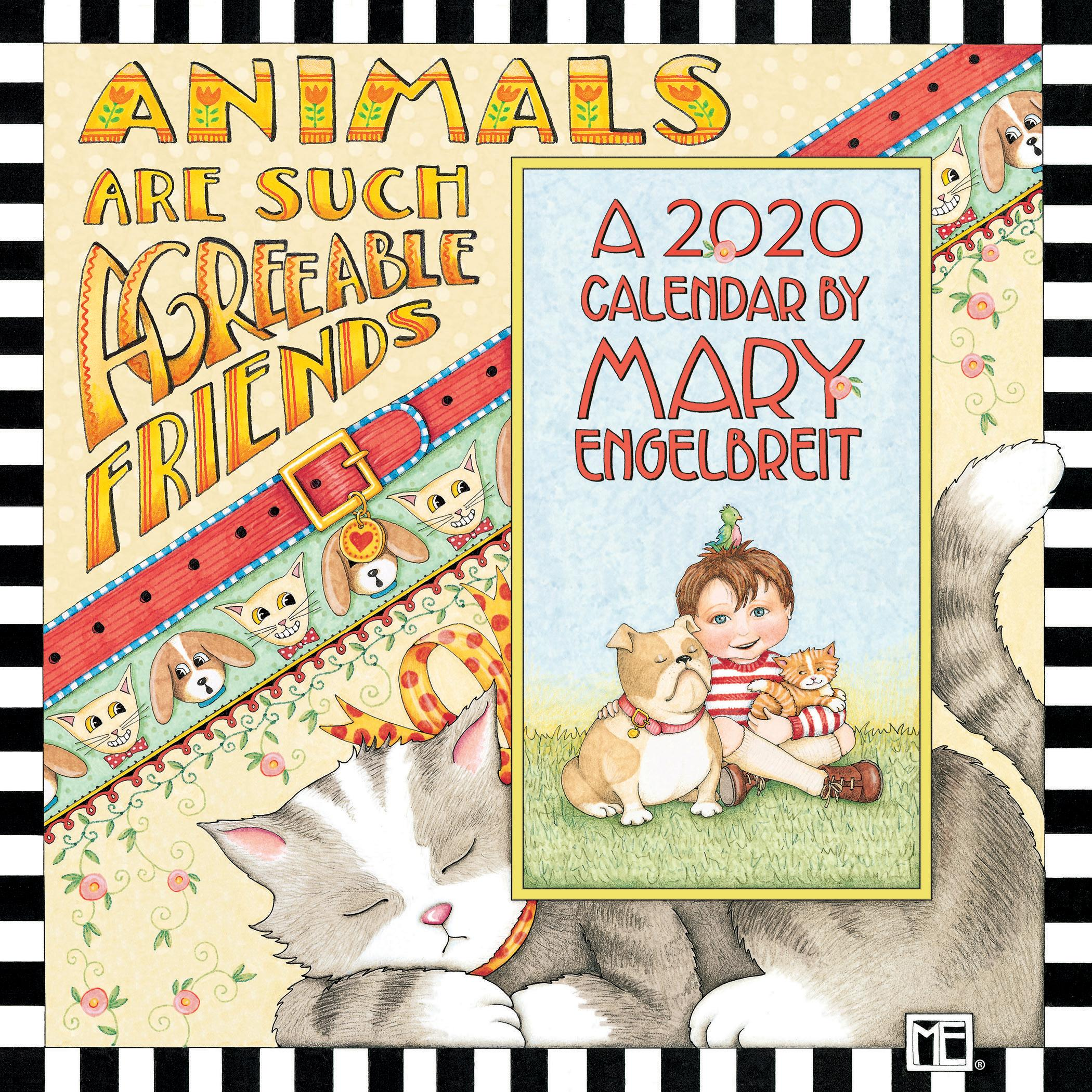 - Mary Engelbreit 2020 Mini Wall Calendar: Animals Are Such Agreeable Friends  (Other) - Walmart.com - Walmart.com