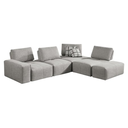 Vig Furniture Divani Casa Platte 3 Piece Modular Sectional Sofa