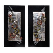 Metal Wall Decor Set Of 2 Assorted Amazingly Low Priced