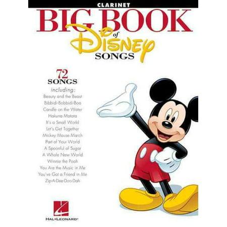 Big Book of Disney Songs: Clarinet (Love Songs Big Book)