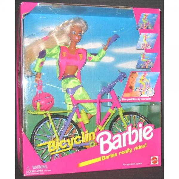 Bicyclin' Barbie