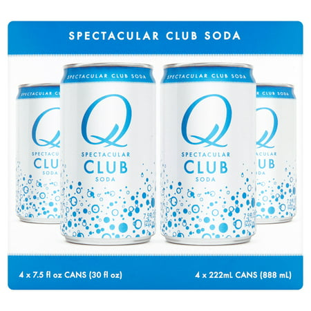 Q Tonic Club Soda 4Pk,30 Fo (Pack Of 6) ()