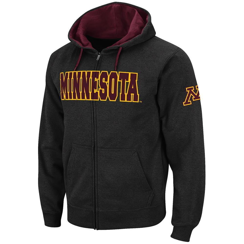 Mens Minnesota Golden Gophers Full Zip Hoodie - XL