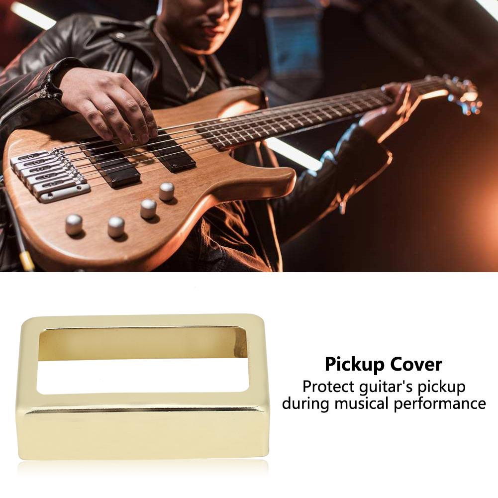 Open Style Metal Guitar Pickup Case Brass Humbucker Cover for Electric Guitars Humbucker Cover Electronic Guitar Pickup Cover