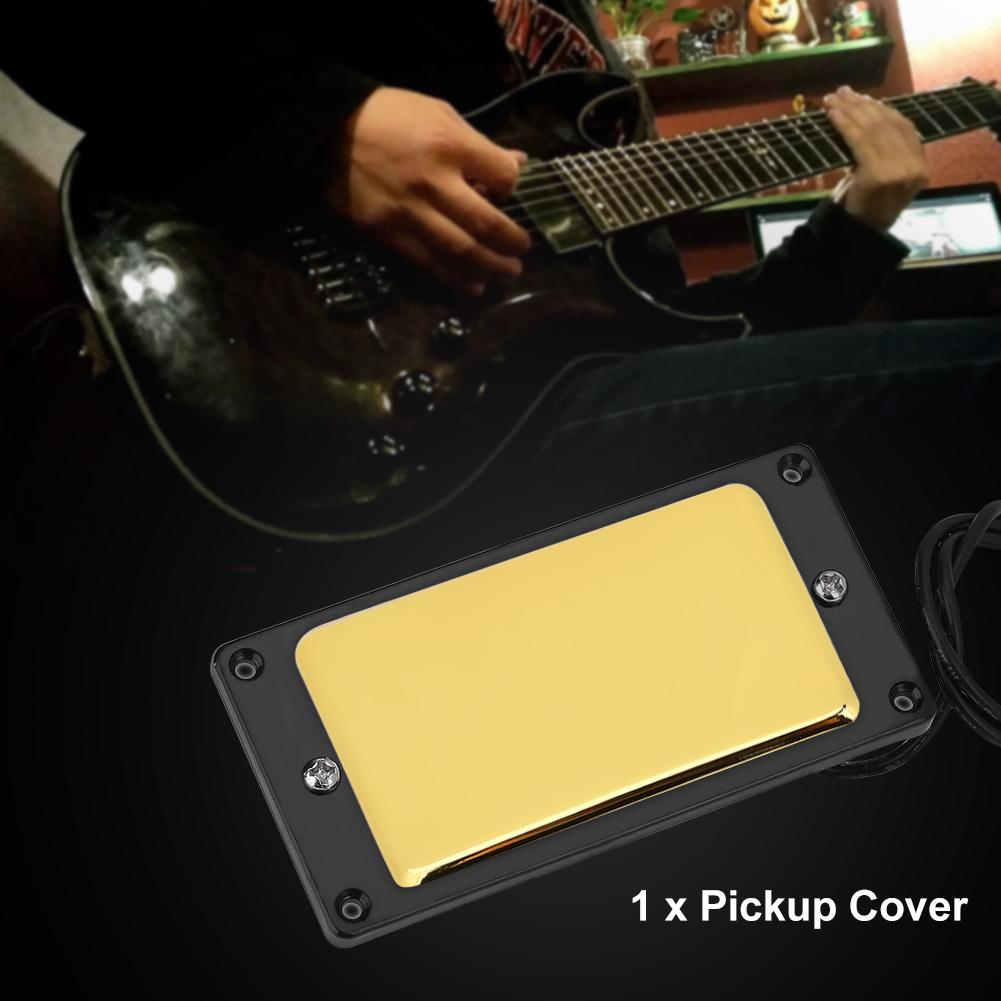 Closed Metal Guitar Pickup Case Brass Humbucker Cover for Electric Guitars Pickup Cover Closed Pickup Cover