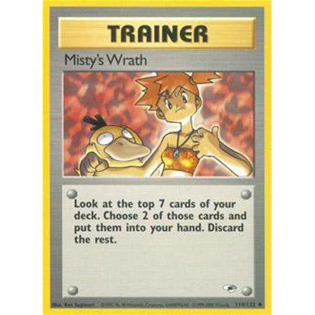 Pokemon Gym Heroes Misty's Wrath