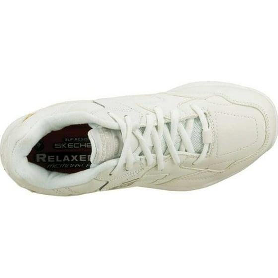 23c73a780177 SKECHERS - Skechers for Work Women s Albie Relaxed-Fit Slip Resistant  Walking Shoe - Walmart.com