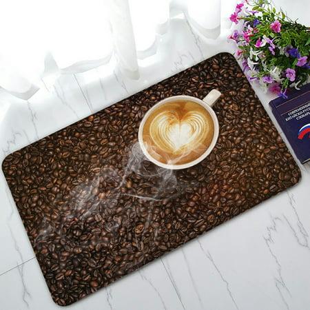 - PHFZK European Classical Doormat, Coffee and Coffee Beans Doormat Outdoors/Indoor Doormat Home Floor Mats Rugs Size 30x18 inches