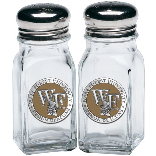 Wake Forest Demon Deacons Salt and Pepper Shaker Set