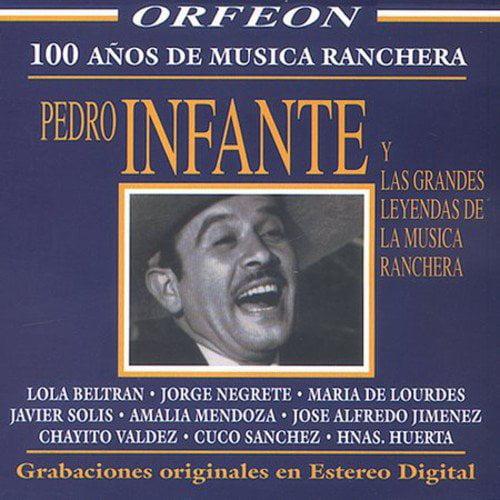 Full performer name: Pedro Infante Y Las Grandes Leyendas De La Musica Ranchera.