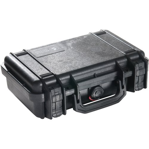 Pelican Products Equipment Case: 8.34'' x 11.64'' x 3.78''