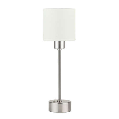 Lights Up! Cancan Mini 11'' H Table Lamp with Drum Shade