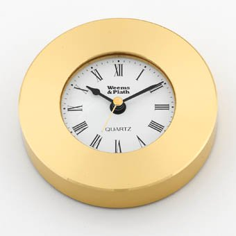 weems & plath marine navigation clock chart weight (brass) Brass Clock Chart Weight
