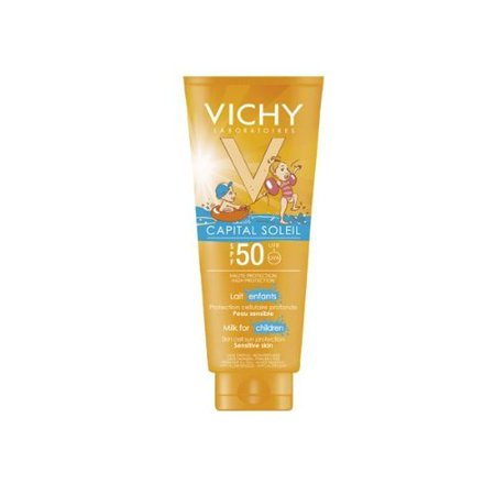 Vichy Capital Soleil Gentle Milk For Children Spf50  300 Ml  Face And Body