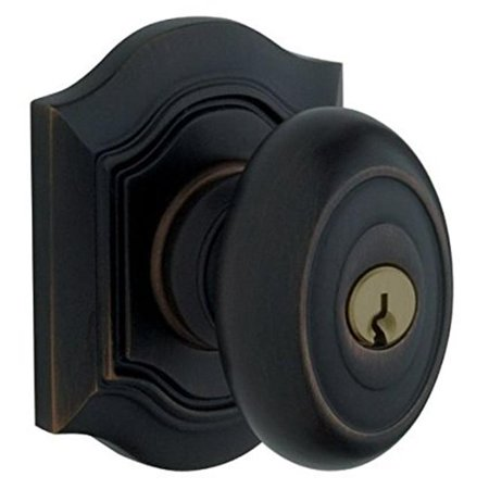 Baldwin 5237190ENT Entrance Knob X Knob Set, Satin -