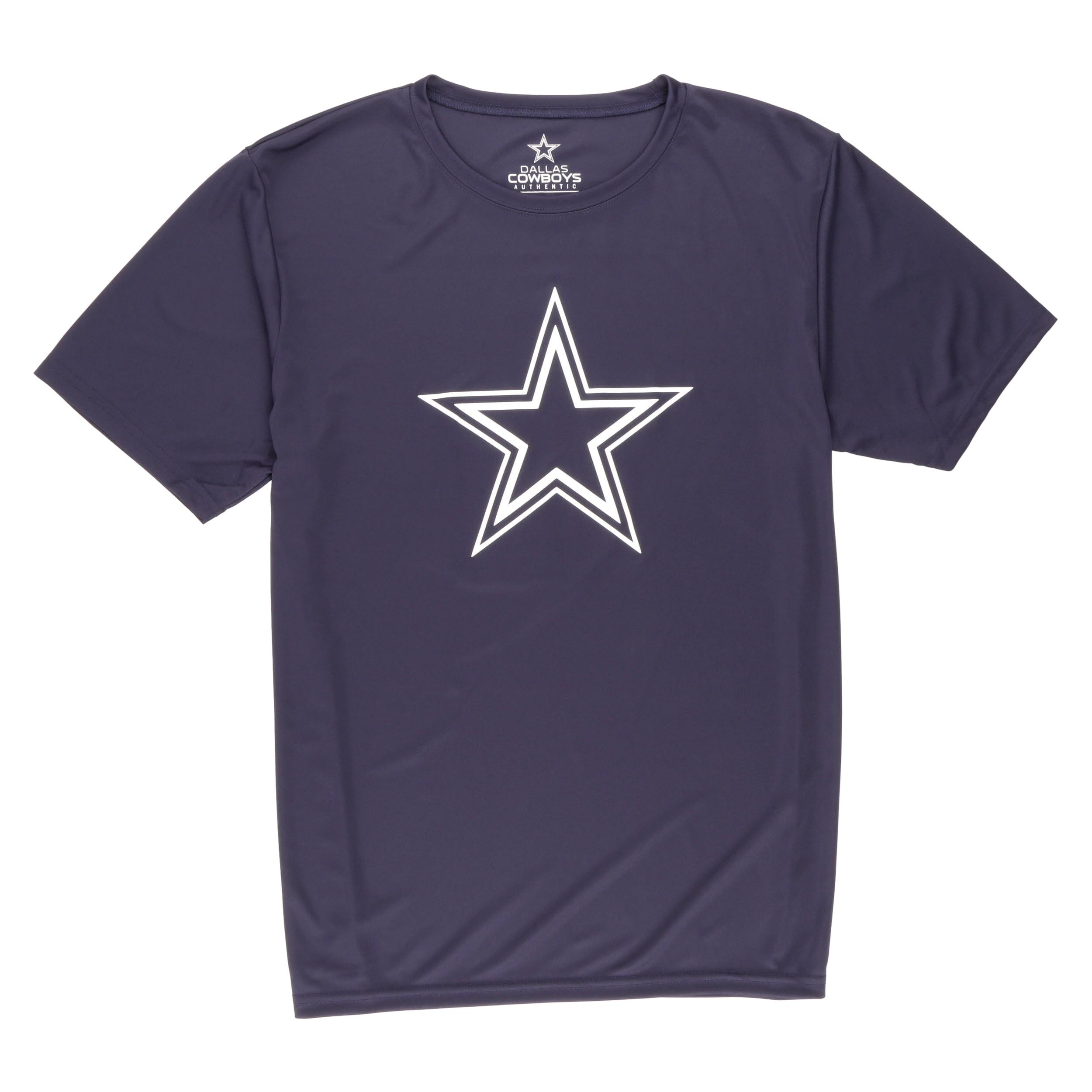NFL Dallas Cowboys Big Men's Dak Prescott Short Sleeve Performance Tee Shirt