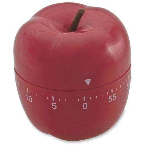Baumgartens Red Apple Shaped Timer