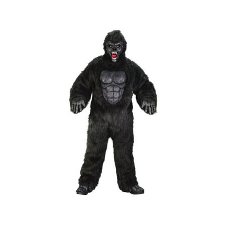 Ferocious Gorilla Adult Halloween Costume - One Size Up to 200 lbs