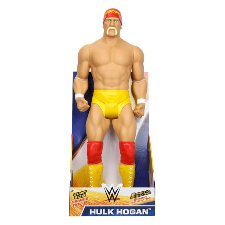 WWE Hulk Hogan Action Figure | Giant Sized Wrestler Great for Kids | 31