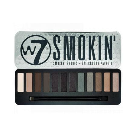 W7 - Smokin' Shades Eye Shadow Colour Palette - 15.6g Colour Focus Eye Shadow Palette