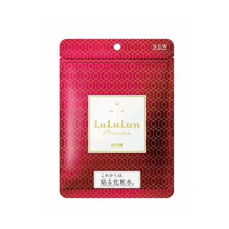 Lululun Face Mask, Precious Red Collection, 7