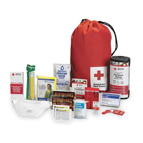 "8-3/4"" Emergency Preparedness Backpack, American Red Cross, RC-622"