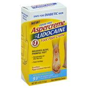 Best Diabetic Foot Creams - Aspercreme Lidocaine Diabetic Foot Creme, 4 oz Review