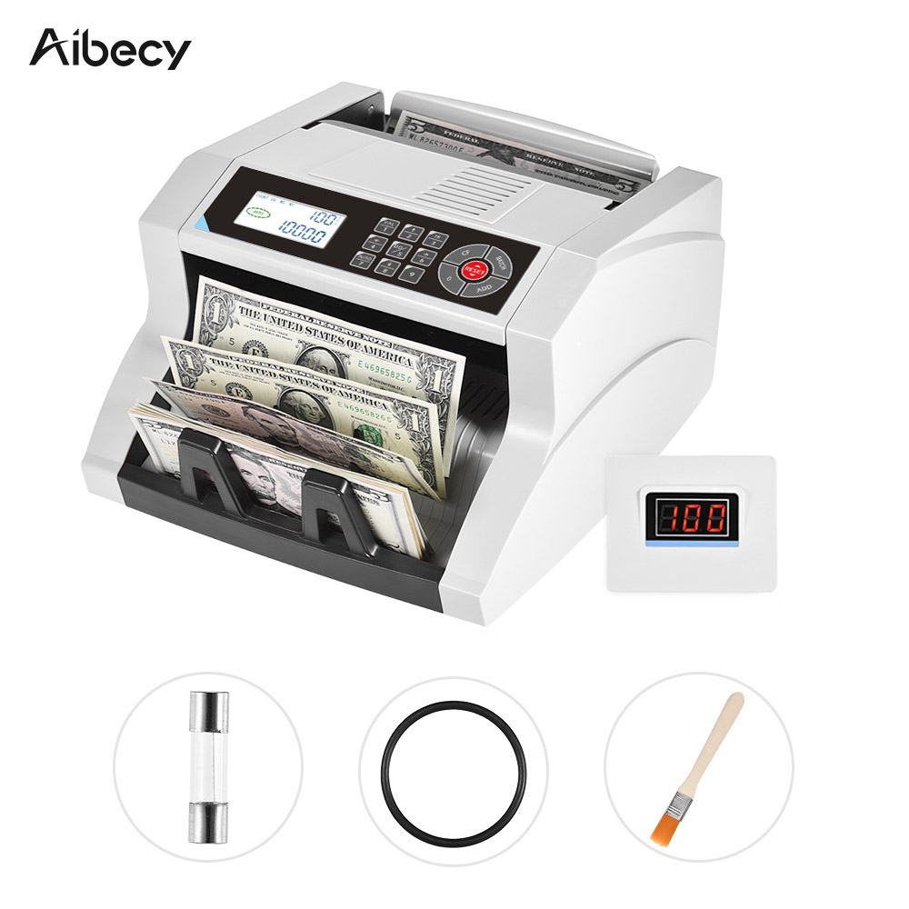 Details about  /Money Counter w//UV//MG//IR//DD//MT Multi Counterfeit Detection Bill Counting Machine