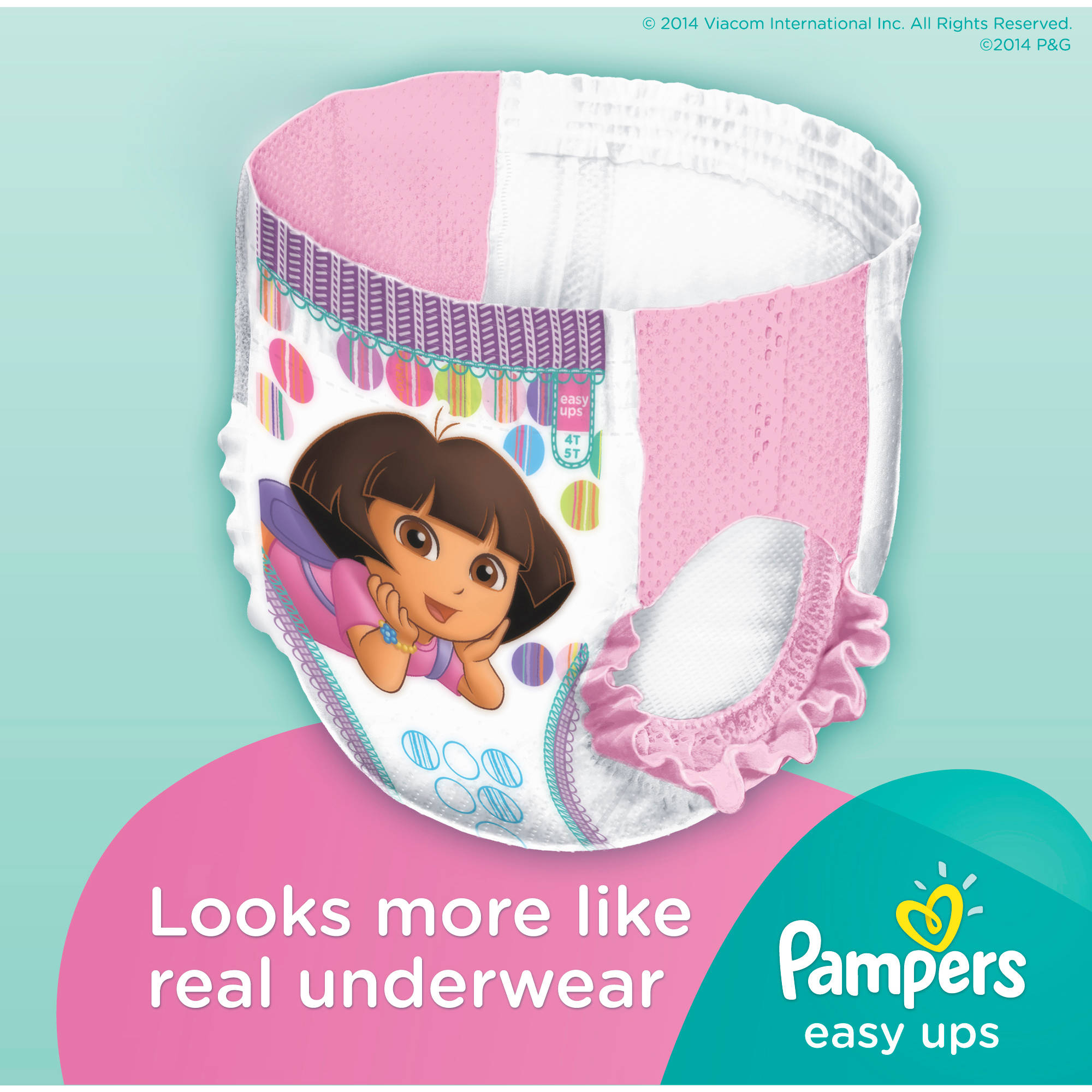 Pampers easy ups girls training pants size 4t 5t 19 pants pampers easy ups girls training pants size 4t 5t 19 pants walmart nvjuhfo Image collections