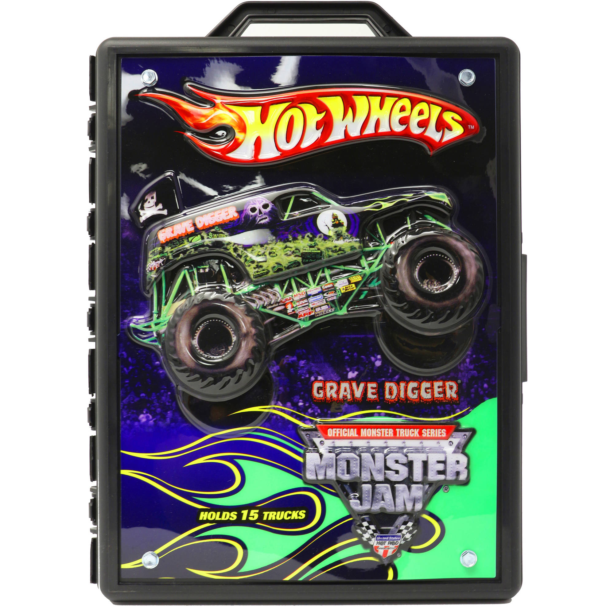 Hot Wheels Monster Jam Case by Tara Toy Corporation