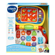 VTech Brilliant Baby Laptop Teaches Colors, Shapes, Animals and Music Multi-color