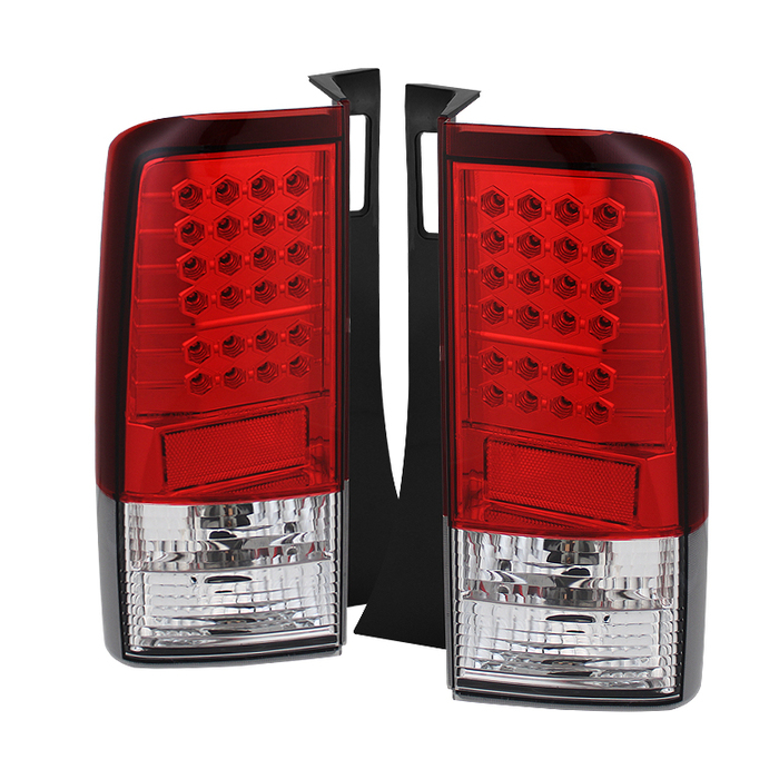 Spyder Scion XB 03-07 LED Tail Lights - Red Clear